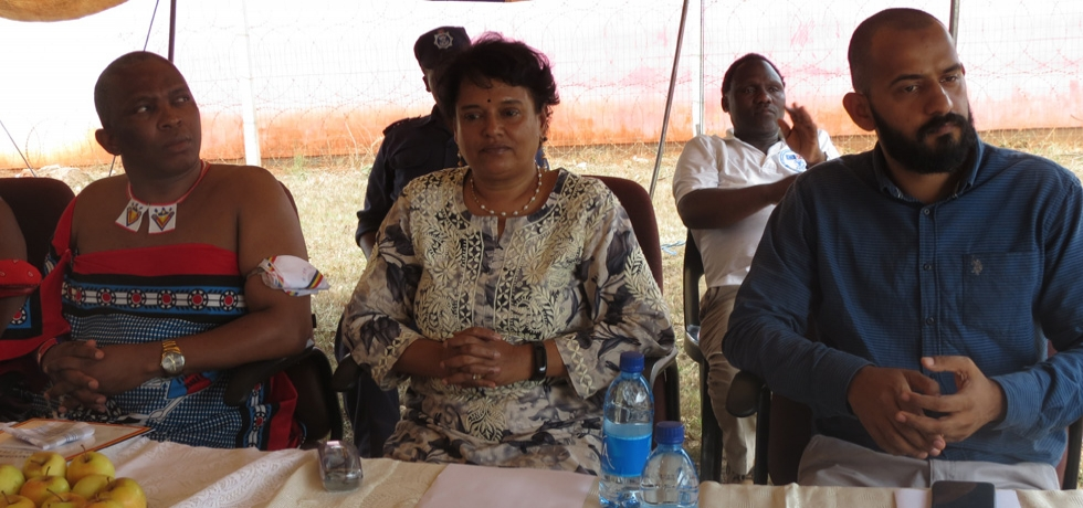 Launch of Lubuyane Irrigation Project with release of first instalment of GoI Grant
