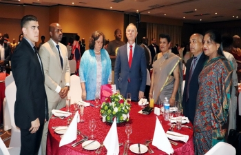 High Commissioner joins Embassy of Qatar in Mbabane for its National Day celebrations