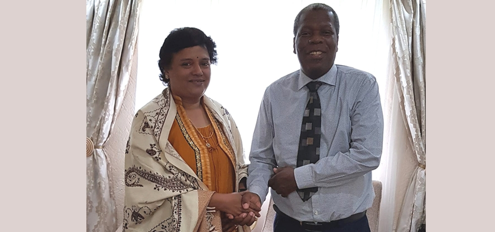 Speaker of the Assembly of the Kingdom of Eswatini calls on the High Commissioner