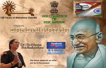 Gandhi Katha with Dr. Shobhana Radhakrishna